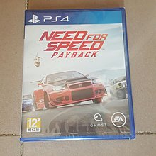 ps4 全新未開封 中文版need for speed payback$199