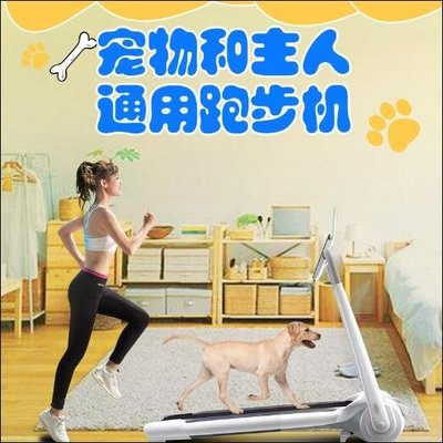 寵物跑步機寵物人兩用訓練狗用狗狗跑步機比特犬用訓練遛狗大型訓狗用的小型