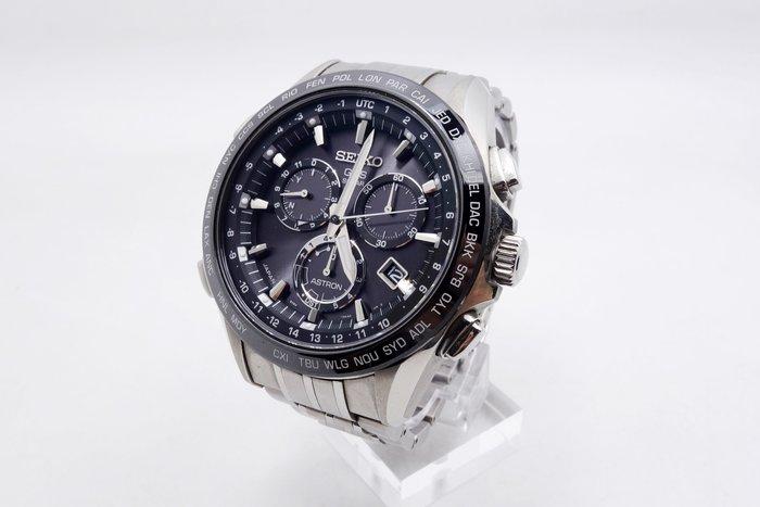【台中青蘋果】精工錶 SEIKO Astro GPS 8X82-0AB0D 鈦 太陽計時腕錶 45mm #07185