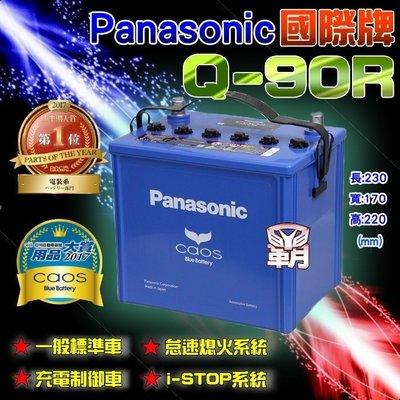 【電池達人】Q100R 日本松下 國際牌 汽車電池 FORESTER LEGACY IMPREZA Q85R Q90R