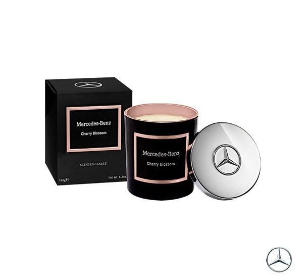 GOODFORIT / 賓士Mercedes-Benz頂級居家香氛工藝蠟燭(櫻花果香)/180g