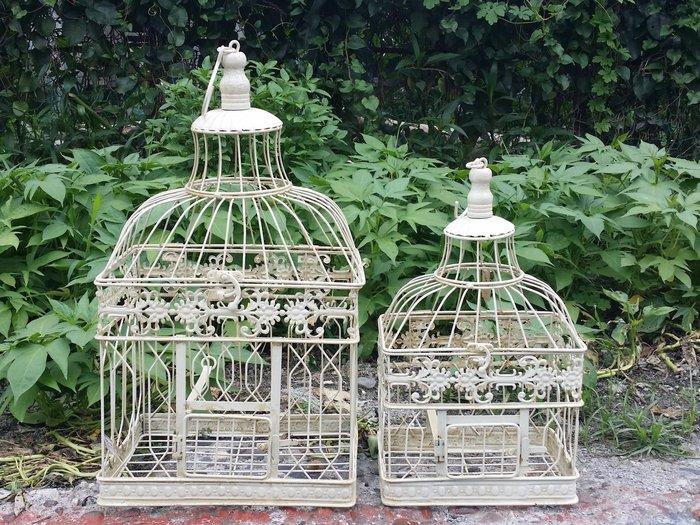 ~蘇菲亞精品傢飾~南法鄉村風復古作舊鳥籠/櫥窗展示