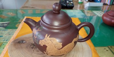 【~Y.W.Y~收藏品】~飲茶人早期收藏~紫砂(精美小壺)~歡迎行家鑑賞實品~Y163