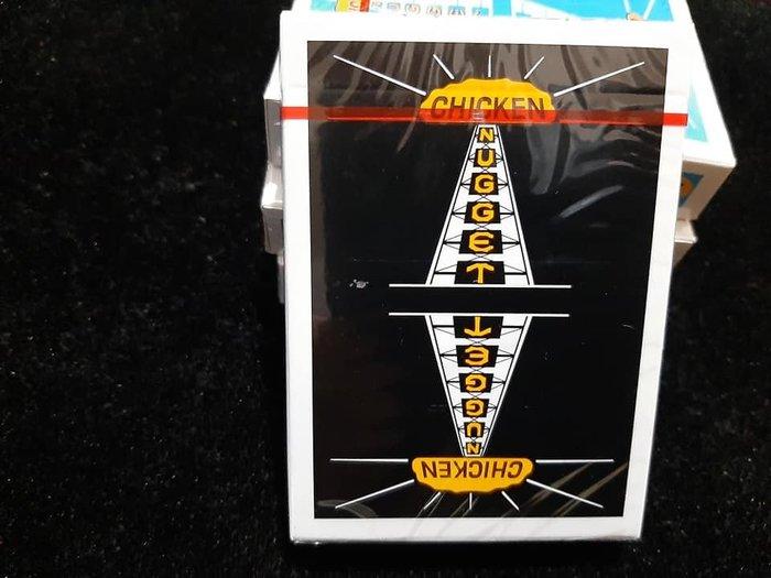 【天天魔法】【G005】正宗原廠~(限量)(黑色)雞塊牌~Chicken Nugget Playing Cards~簡子