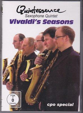 音樂居士#Quintessence Saxophone Quintet Seasons 薩克斯五重奏 四季 D9 DVD