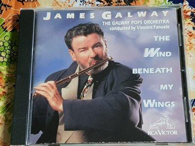 R古典(二手CD)JAME GALWAY~the wind beneath 美國版~無IFPI~