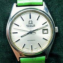 OQ精品腕錶  瑞士鐵達時自動上鍊機械錶ETA機芯玻璃鏡面不合龍頭35MM