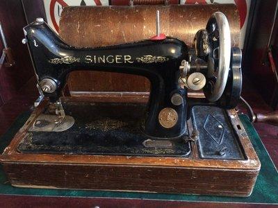 1927年 勝家 SINGER 99K 手搖縫紉機 6541