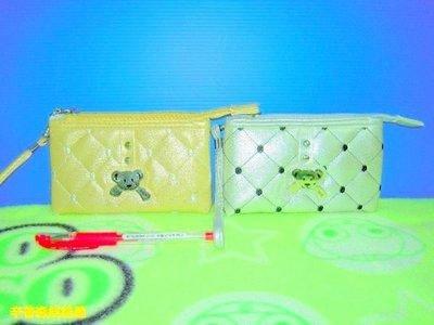 【辛普森娃娃屋】金銀格子熊熊零錢包