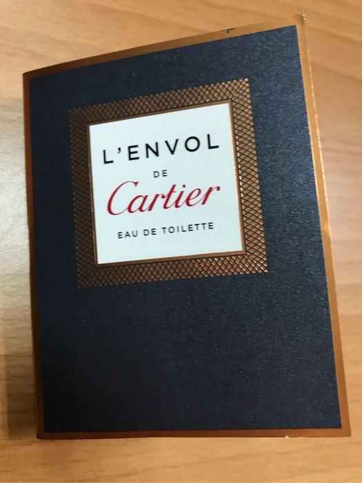 全新現貨Cartier 卡地亞 飛行 L'Envol de Cartier 男士 淡香水 EDT 1.5ml 噴式 試管