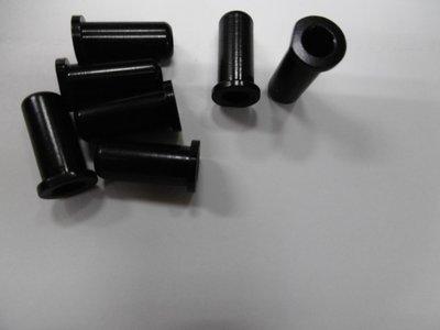 [ㄚ順雜貨鋪] 全新車架用標準端套適用於5mm外管線煞車線(單顆 : 7 元)