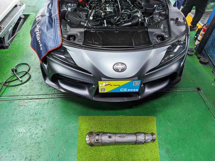 CS車宮車業 RES 直通 當派 TOYOTA SUPRA 3.0 B58 引擎專用 隔熱設計 新款 增加 OPF