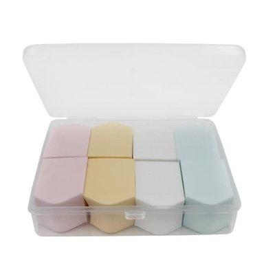 拉美拉膠盒裝海綿粉撲氣墊粉撲葫蘆粉撲粉底BB霜化妝棉撲硅膠粉撲