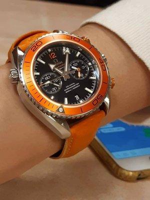 2016 OMEGA 橘海馬 9300 9.5成新