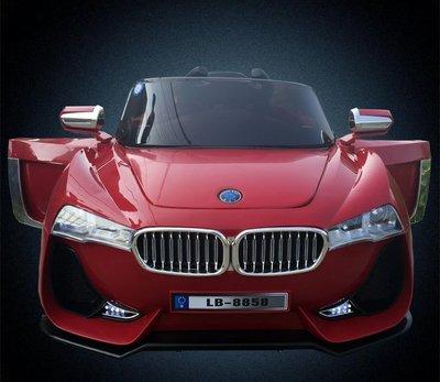【團購網】帶搖擺功能. 大款仿真BMW造型 雙驅動 門可開 兒童電動車 2.4G遙控.可貨到付款
