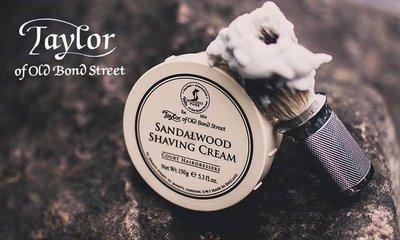 GOODFORIT / 英國百年頂級Taylor Shaving Cream Bowl經典檀香刮鬍膏/150g