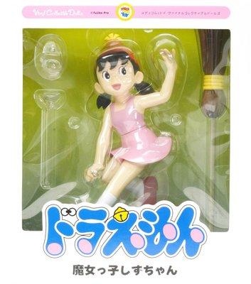 日本正版 Medicom Toy VCD 哆啦A夢 靜香 魔女 模型 公仔 日本代購