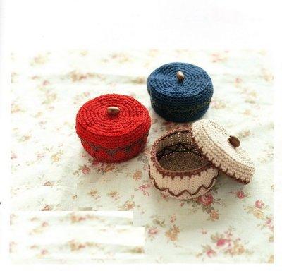 編織麻繩置物盒材料包~多色任選!~紙線...