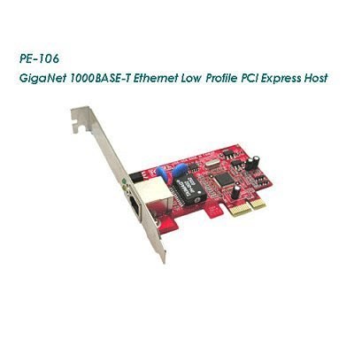 PE-106 GigaNet 1000BASE-T PCI Express 1000 Mbps 網路卡  台灣製