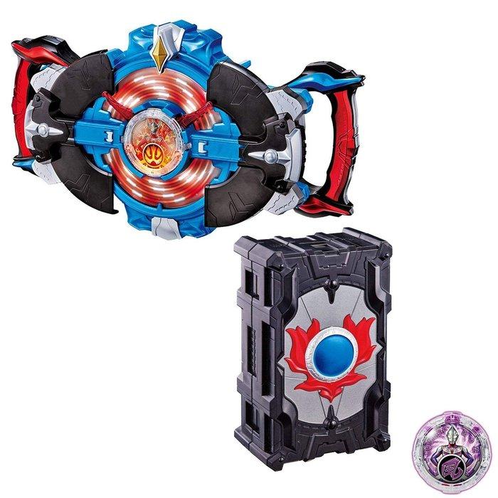 41+現貨免運費 BANDAI DX 奧特曼 超人力霸王 羅布 變身迴轉儀 水晶收納盒  套組 小日尼三 my4165