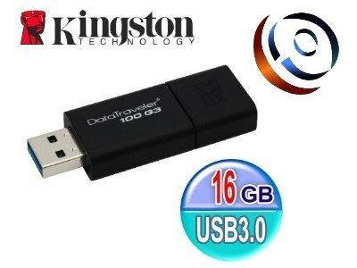 「ㄚ秒市集」Kingston 金士頓 DataTraveler 100 G3 16G 16GB USB3.0 隨身碟