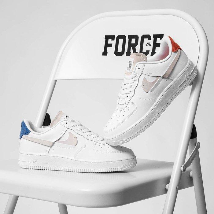 [RG專業代購] Air Force 1 LX Vandalised White 拚接斷勾潮流男女鞋(+)