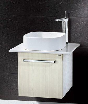 凱薩LF-5256高級浴櫃+日本精密陶...