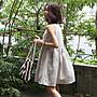 棉麻無袖洋裝娃娃裝  典雅氣息素面圓領背心連身裙 艾爾莎 【TAE5333】