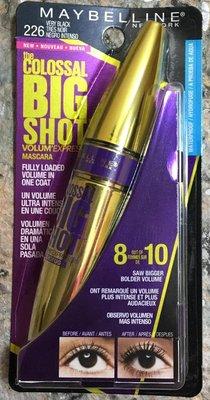Maybelline (媚比琳) [ 摩天濃睫毛膏 ] Big Shot 防水 / 無防水 兩款可選 全新品