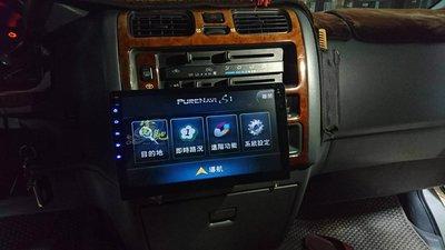 中壢富馳汽車音響 TOYOTA HIACE 海力士改裝奧斯卡通用型10.1吋安卓導航影音主機~螢幕可上下左又調整~