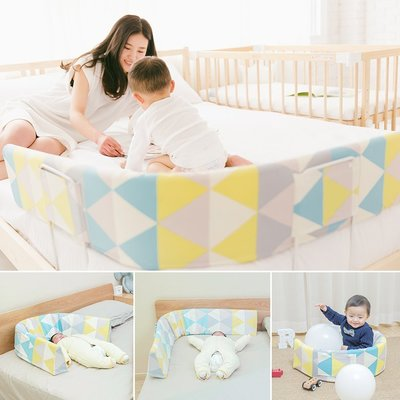 嬰兒創意床護欄 日本BSCR進口多功能兒童床邊圍欄  1.42M大床欄杆 嬰兒防摔擋板