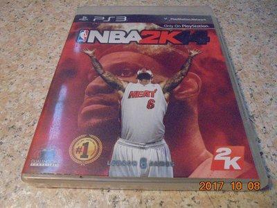 PS3 NBA2K14/NBA 2K14 中英合版 直購價100元 桃園《蝦米小鋪》