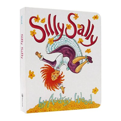 Silly Sally 傻傻的莎莉 倒著走的女孩英文繪本 韻文與歌謠 廖彩杏兒童英語啟蒙圖畫故事書Audrey Wood 好再來O