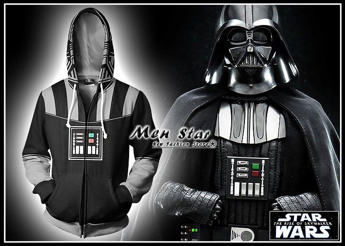 【Men Star】免運費 STAR WARS 天行者的崛起 彈力運動外套 防雨外套 風衣外套 休閒外套 尤達 歐比王