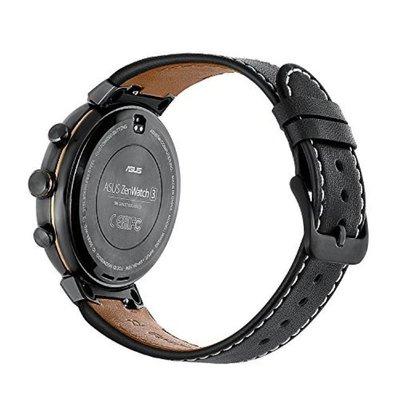 【現貨】ANCASE Asus ZenWatch3 錶帶 真皮錶帶 錶鏈