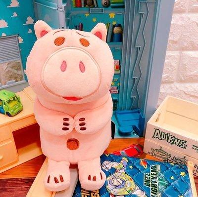 現貨【迪士尼正版】玩具總動員4 火腿豬 熊抱哥 造型萬用包 迪士尼零錢包 開學季