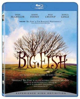 BD 全新美版【大智若魚】【Big Fish】Blu-ray 藍光