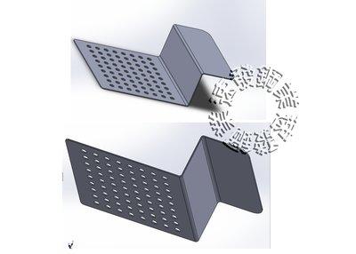 速發~特殊排水孔網板加工~圓孔長圓孔方孔~客製化不鏽鋼不銹鋼板   割字,白鐵板加工折彎、加工成型、裁切