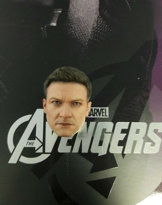 Hottoys Hot Toys The Avengers HAWKEYE 散件 - 頭