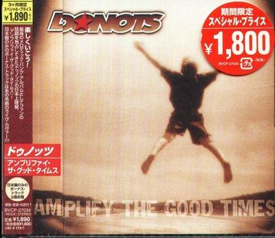 K - Donots - Amplify the Good Times - 日版 +2BONUS - NEW