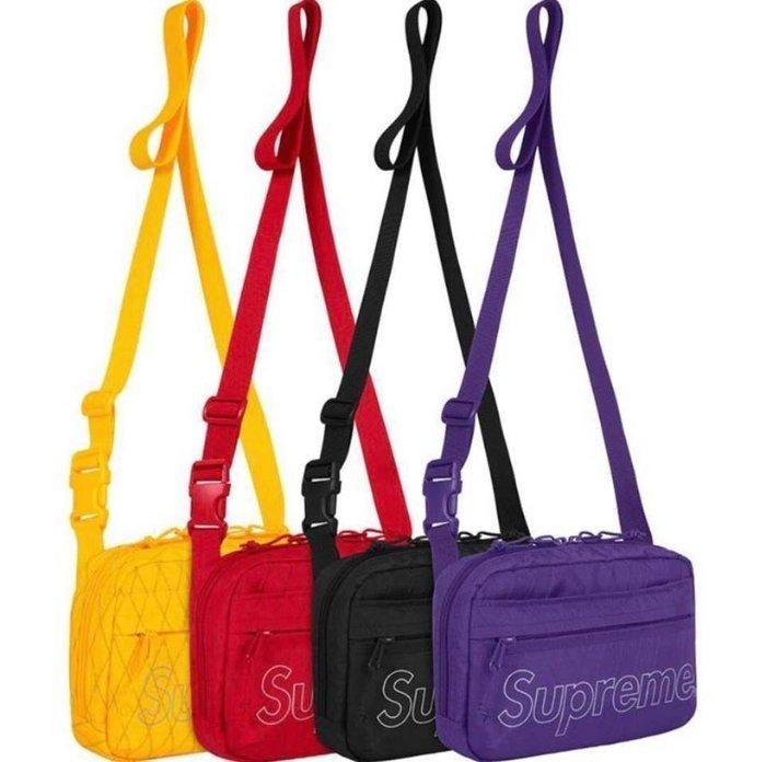 XinmOOn Supreme 45th Shoulder Bag 側背包 小包 肩包 格紋 機能 經典 休閒 紅 男女