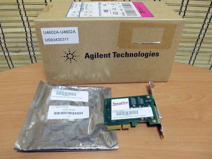 康榮科技二手測試儀器領導廠商Agilent U4602A PCIe x4 card (slot adapter) 極新
