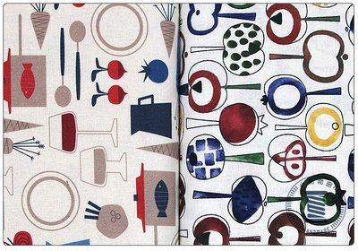 ✿小布物曲✿100%純棉有機布 廚房水果系列 韓國進口布料觸感優 共2色 單價 窄幅110CM/1尺