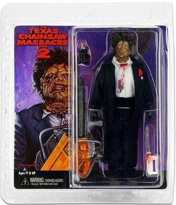 金錢貓雜貨全新Neca Texas Chainsaw Massacre 8吋德州電鋸殺人狂 Leatherface 皮臉