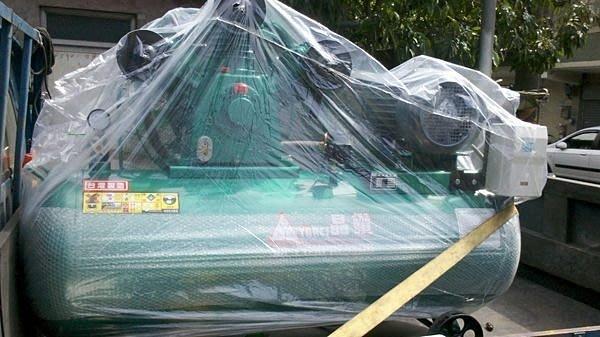 全新5HP皮帶式空壓機東元馬達(收購.買賣.維修.保養空壓機,請見關於我)