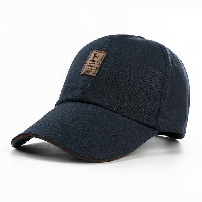 鴨舌帽 男士春天夏季女太陽帽遮陽帽運動帽透氣棒球帽旅游釣魚