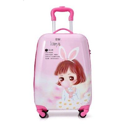 行李箱兒童四輪拉桿箱男女卡通旅行箱萬向輪16寸18寸旅行箱寶寶19