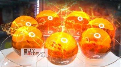 全新 PS4 Switch Dragon Ball Z 龍珠 超 七龍珠套裝 (7.6cm 1:1原大)- 仿玻璃樹脂製 神龍 生日禮物許願必備