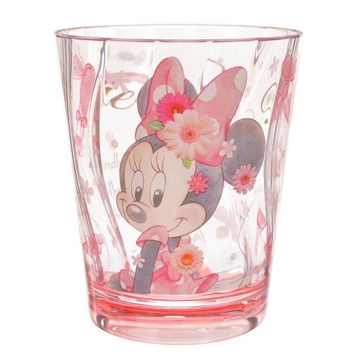 迪士尼Disney《現貨》米妮公主 流線杯身水杯 耐熱70度 440ml~日本正品~心心小舖