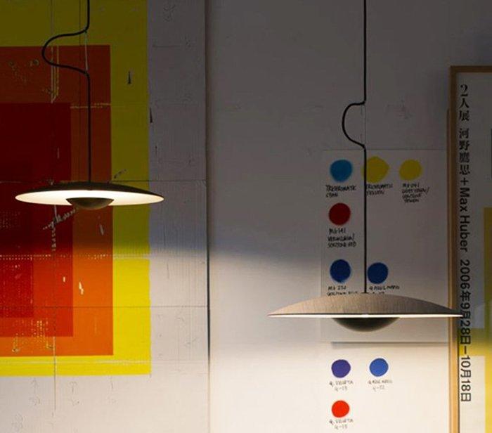 UFO 直徑600mm 北歐風格 餐廳 吊燈 創意 極簡臥室燈 時尚藝術走廊 裝飾 燈具 暖光 LED 110-220V
